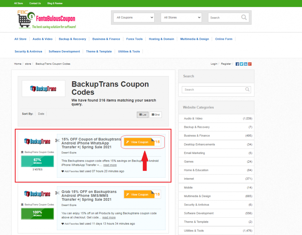 How to use the coupons & deals 1 - Fantabulouscoupon